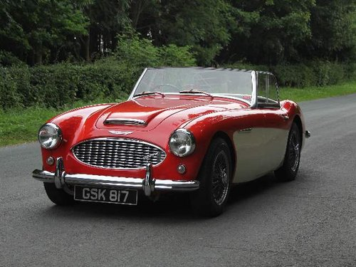 1959 Austin Healey 3000 MKI - 30k miles of touring since 91 SOLD (picture 2 of 6)