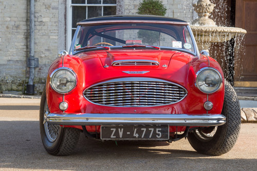 1957 Austin Healey 100/6 | UK RHD, Original Hardtop & Upgraded For Sale (picture 1 of 6)