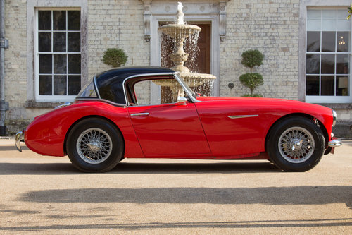 1957 Austin Healey 100/6 | UK RHD, Original Hardtop & Upgraded For Sale (picture 3 of 6)