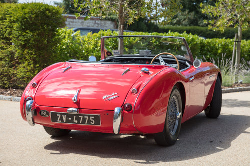 1957 Austin Healey 100/6 | UK RHD, Original Hardtop & Upgraded For Sale (picture 4 of 6)