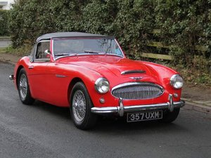 1961 Austin Healey 3000 MKII-2700 miles since nut & bolt rebuild