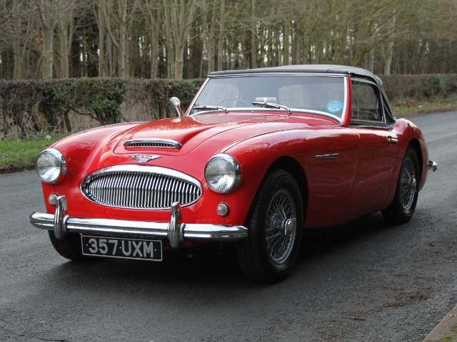 1961 Austin Healey 3000 MKII-2700 miles since nut & bolt rebuild For Sale (picture 2 of 6)
