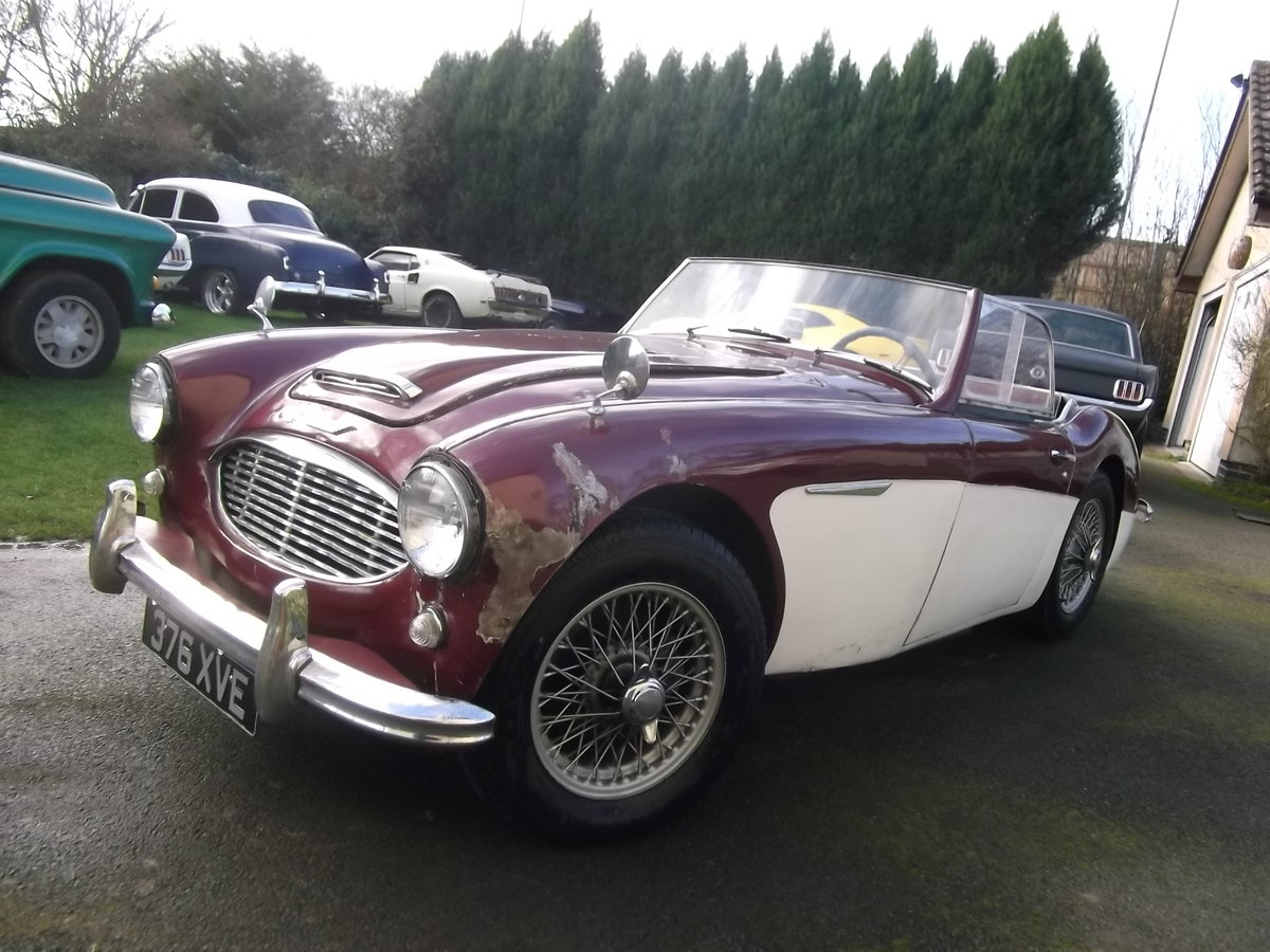 Austin-Healey-3000-1961-2-Plus 2, LHD, Last owner 35 years SOLD (picture 2 of 6)
