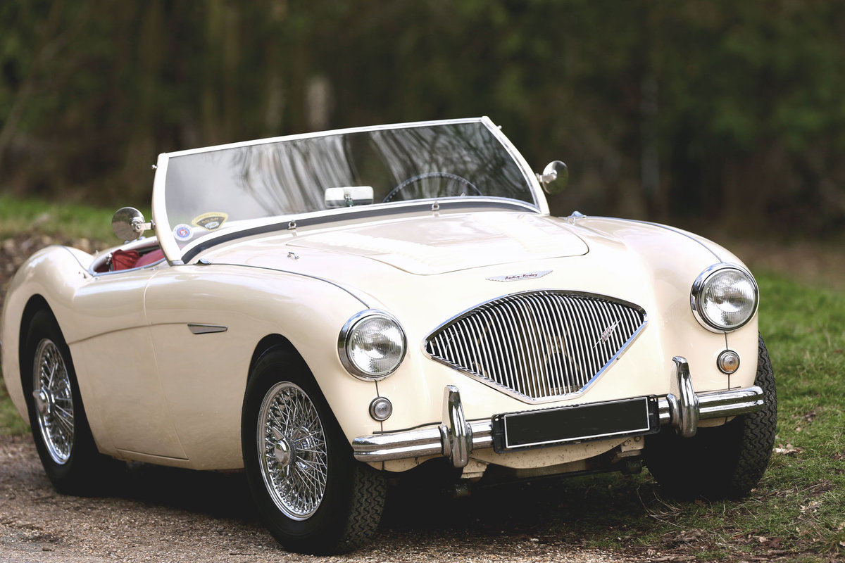 Gorgeous 1956 Austin Healey BN2 4spd + overdrive For Sale (picture 1 of 6)
