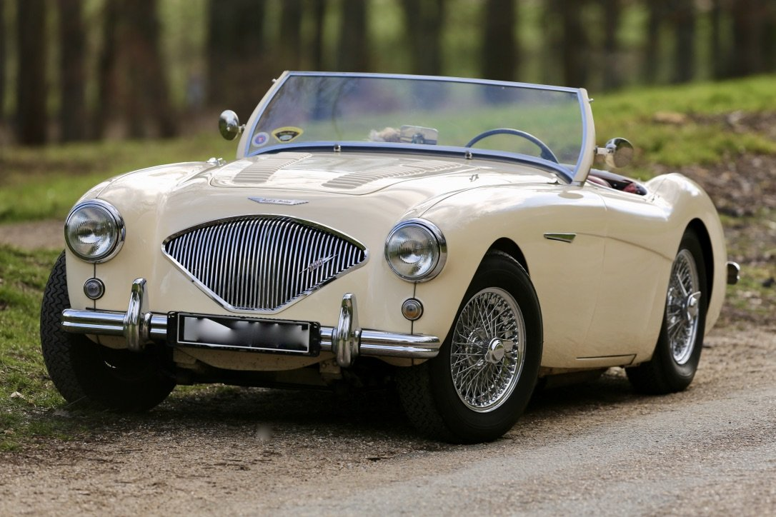 Gorgeous 1956 Austin Healey BN2 4spd + overdrive For Sale (picture 4 of 6)
