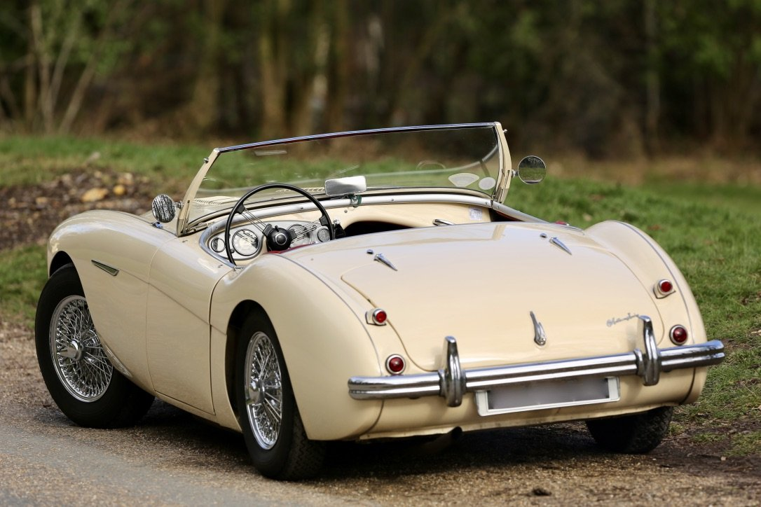 Gorgeous 1956 Austin Healey BN2 4spd + overdrive For Sale (picture 6 of 6)