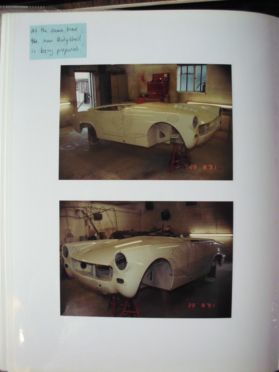 1969 AH Sprite Mk.4 Heritage Shell Restoration SOLD (picture 6 of 6)