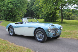 1959 Austin Healey 3000 MkI BN7, UK RHD, Restored & Upgraded SOLD