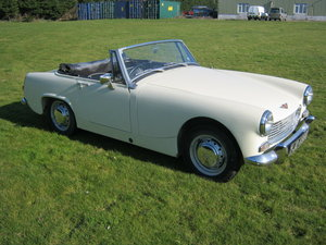 1969 AUSTIN HEALEY SPRITE MKlV. 5 SPEED GEARBOX. HARD TOP. SOLD