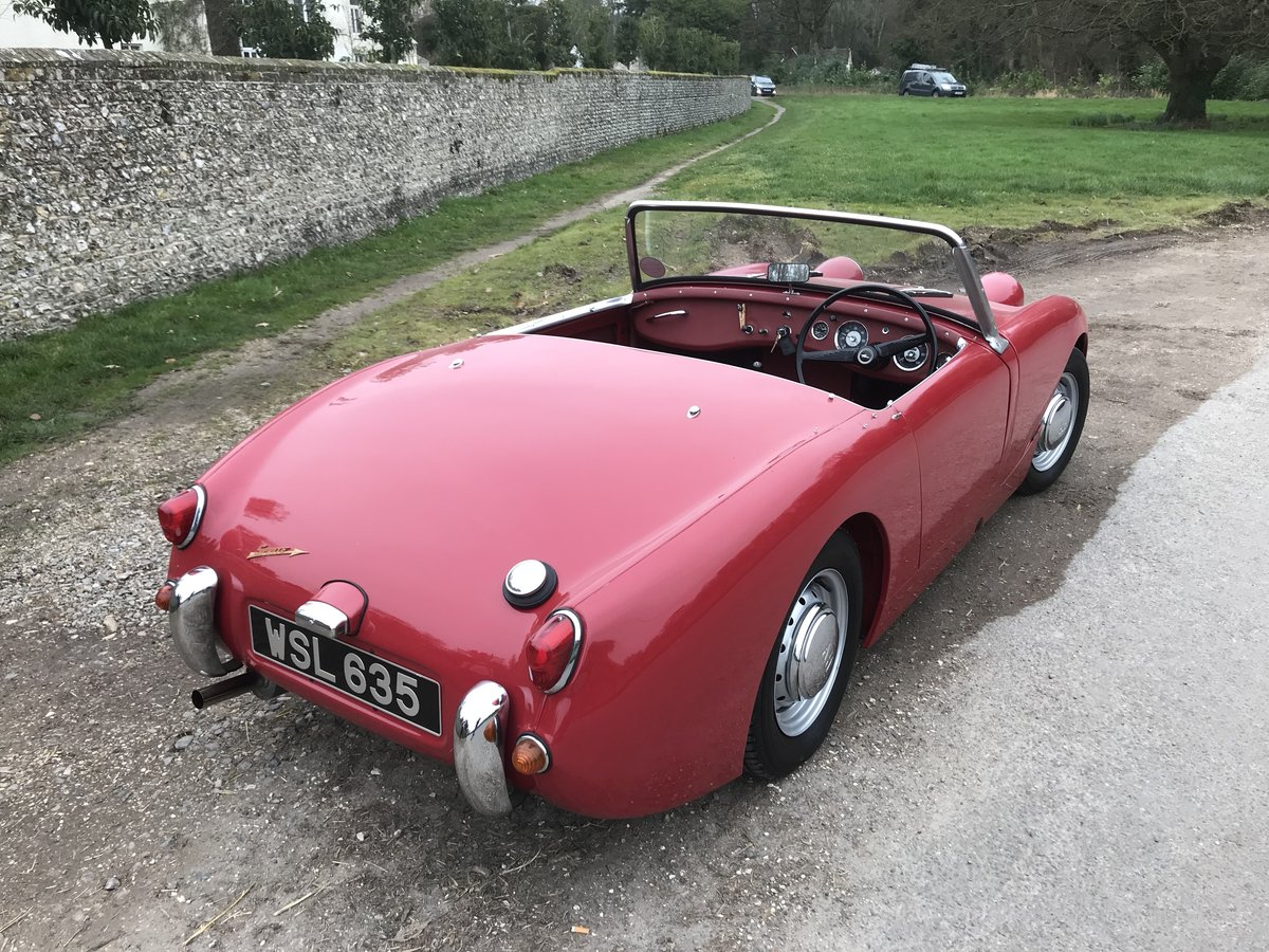 1959 Austin Healey Sprite Mk 1 - Price adjusted SOLD (picture 3 of 10)