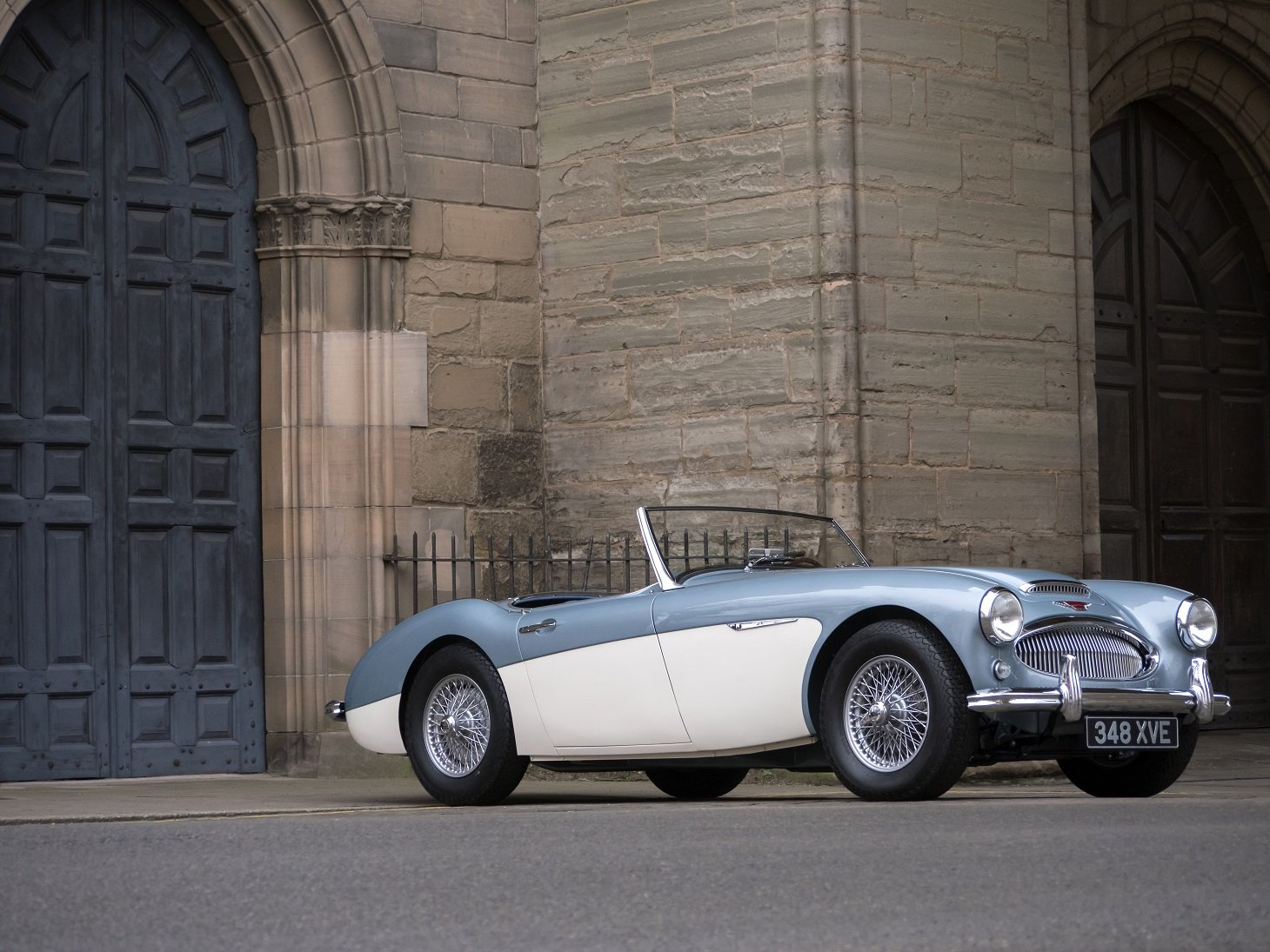 1961 Austin Healey 3000 MKII BN7 - 2 seater Tri-Carb  For Sale (picture 1 of 6)