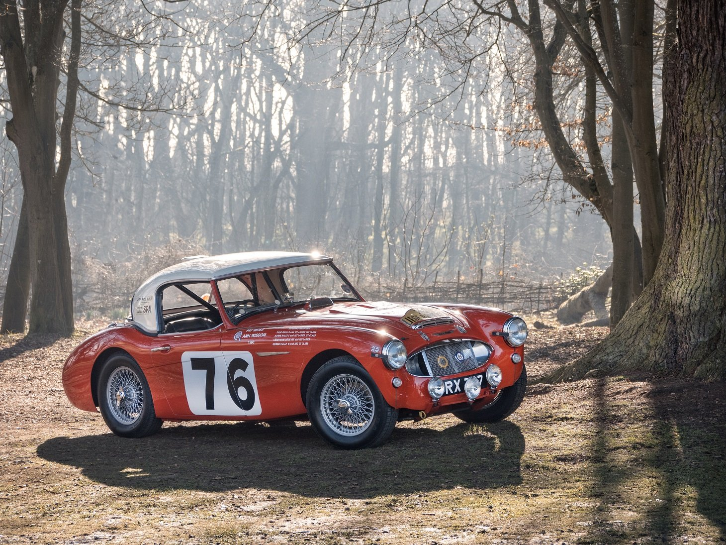 The ex-Works, Moss/Wisdom, 1960 Liege-Rome-Liege Winning car For Sale (picture 1 of 6)