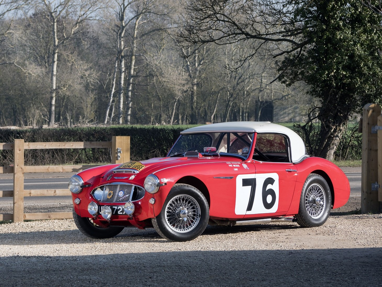 The ex-Works, Moss/Wisdom, 1960 Liege-Rome-Liege Winning car For Sale (picture 2 of 6)
