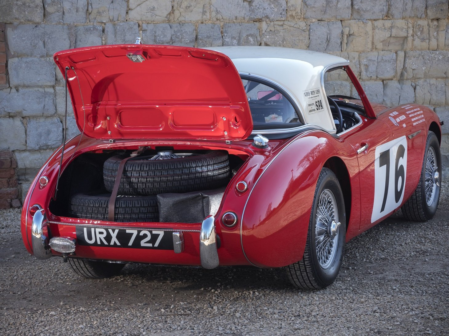 The ex-Works, Moss/Wisdom, 1960 Liege-Rome-Liege Winning car For Sale (picture 5 of 6)