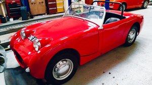 1959 Austin Healey Frogeye Sprite.  For Sale