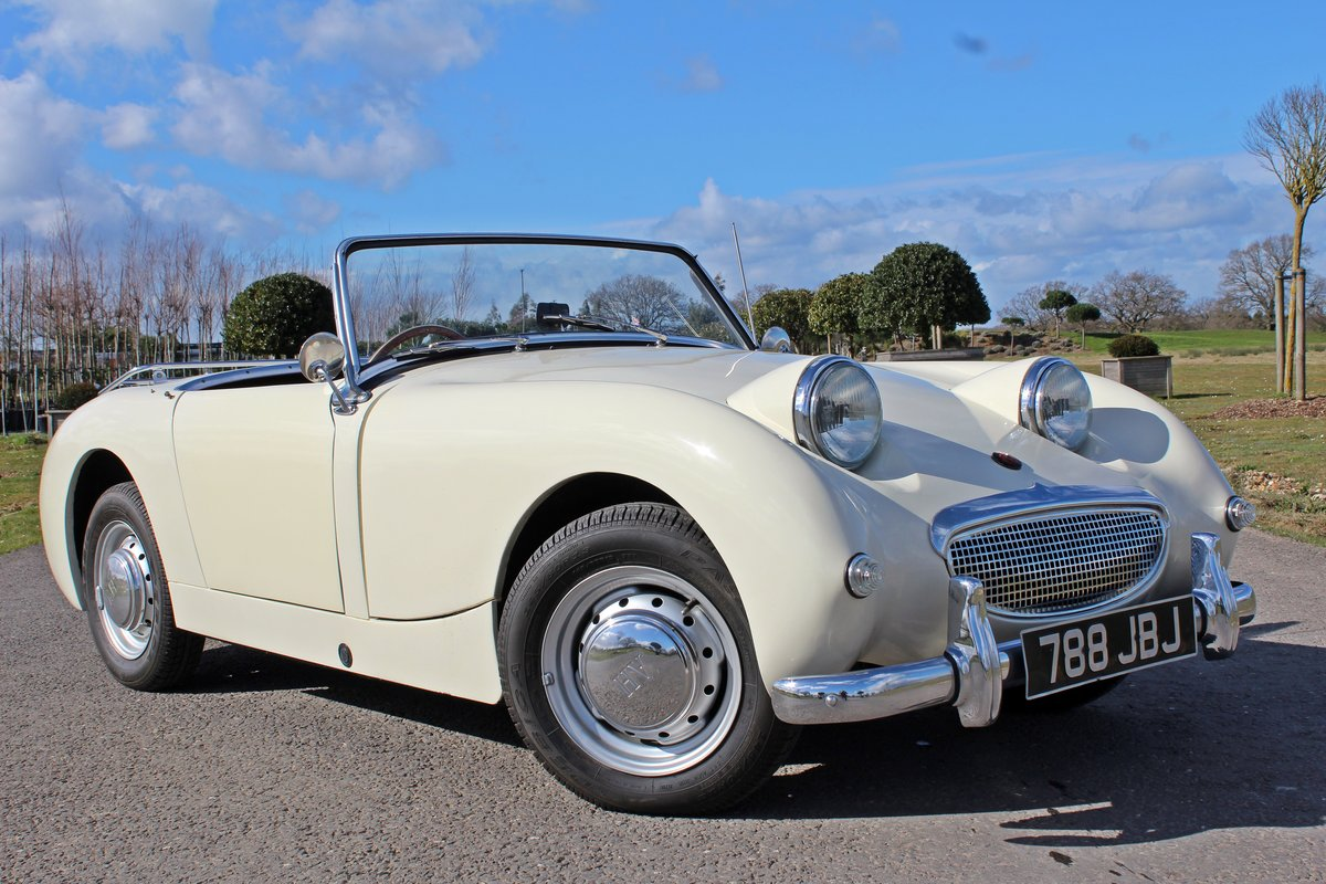 1961 Austin Healey Frogeyed Sprite For Sale (picture 1 of 6)