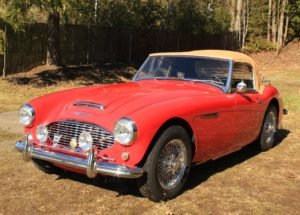 1959 Austin Healey 100-6 = Clean Red(~)Tan driver $37.5k For Sale (picture 1 of 6)