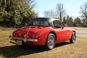 1959 Austin Healey 100-6 = Clean Red(~)Tan driver $37.5k For Sale (picture 2 of 6)