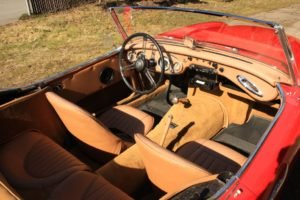 1959 Austin Healey 100-6 = Clean Red(~)Tan driver $37.5k For Sale (picture 4 of 6)