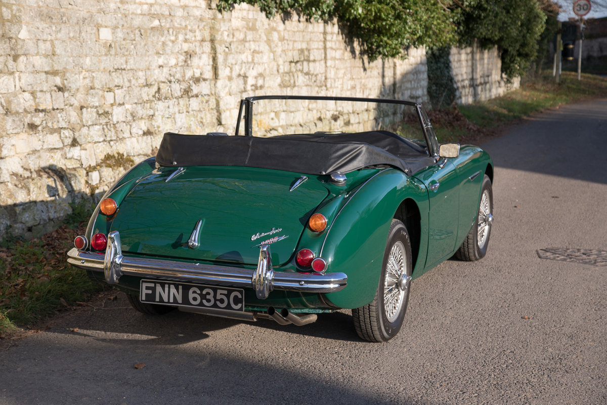 1965 Austin Healey 3000 MkIII | Restored & Highly Original SOLD (picture 4 of 6)