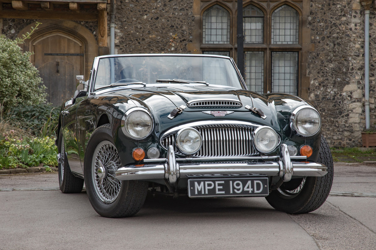 1966 Austin Healey 3000 MkIII   UK RHD, Highly Upgraded SOLD (picture 1 of 6)
