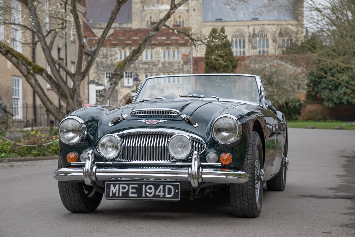1966 Austin Healey 3000 MkIII   UK RHD, Highly Upgraded SOLD (picture 2 of 6)