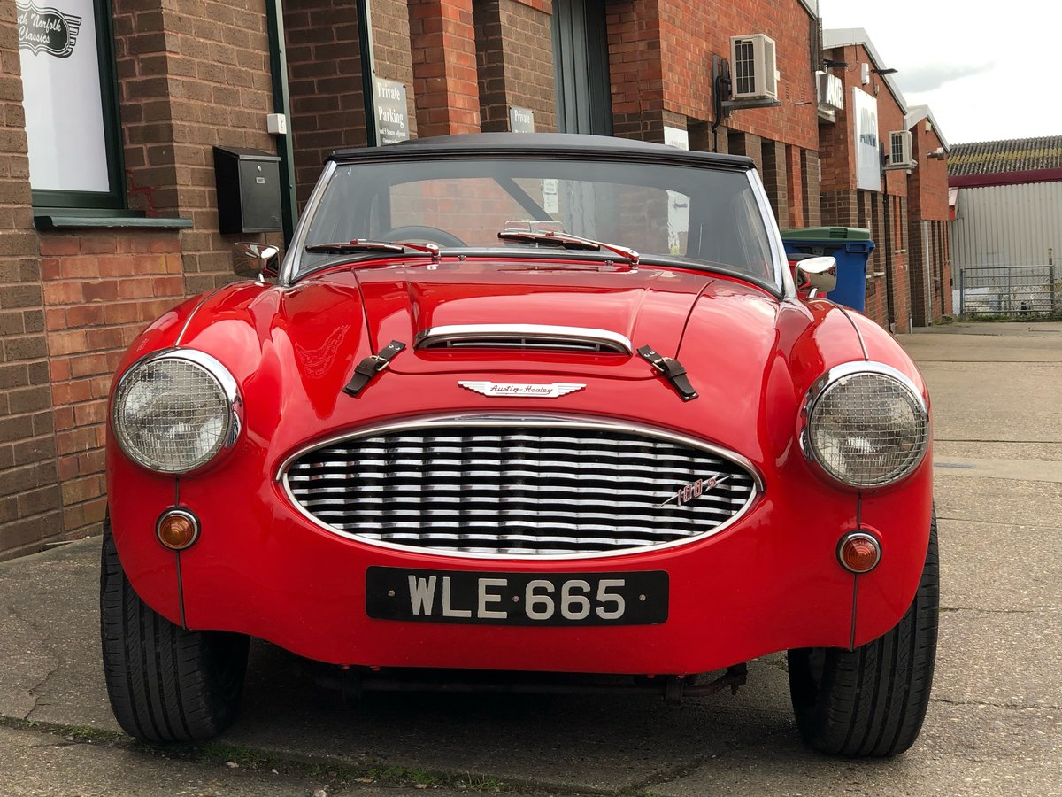 1959 Austin Healey 100-6 BN6 Overdrive  For Sale (picture 1 of 6)