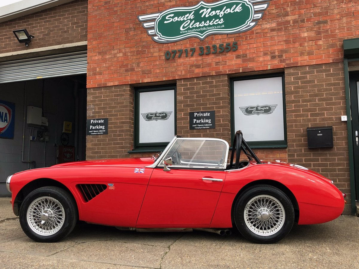 1959 Austin Healey 100-6 BN6 Overdrive  For Sale (picture 2 of 6)