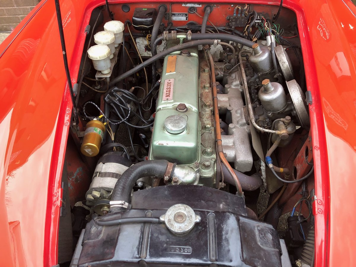1959 Austin Healey 100-6 BN6 Overdrive  For Sale (picture 3 of 6)