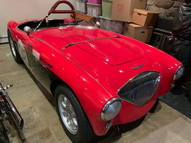 1956 Austin Healey 100-4 Vintage Race Car For Sale (picture 1 of 6)