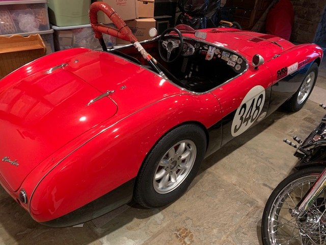 1956 Austin Healey 100-4 Vintage Race Car For Sale (picture 2 of 6)