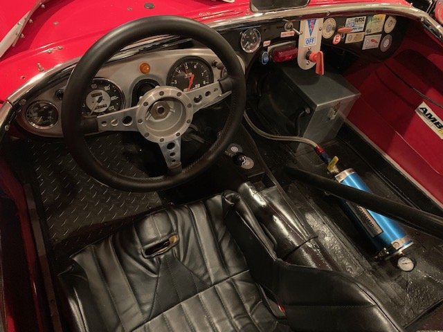1956 Austin Healey 100-4 Vintage Race Car For Sale (picture 3 of 6)