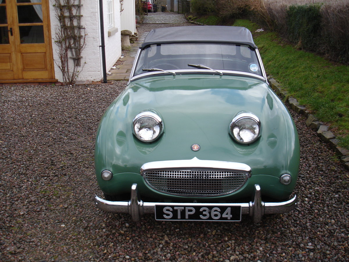 1959 AUSTIN HEALEY SPRITE MK 1 (FROGEYE). For Sale (picture 1 of 6)