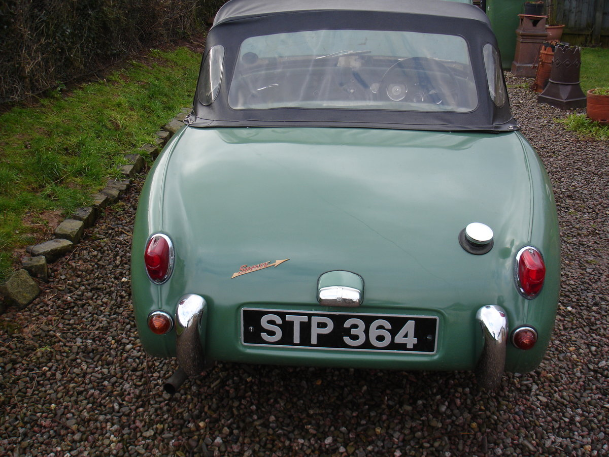1959 AUSTIN HEALEY SPRITE MK 1 (FROGEYE). For Sale (picture 2 of 6)