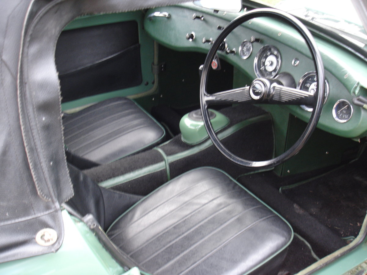 1959 AUSTIN HEALEY SPRITE MK 1 (FROGEYE). For Sale (picture 5 of 6)