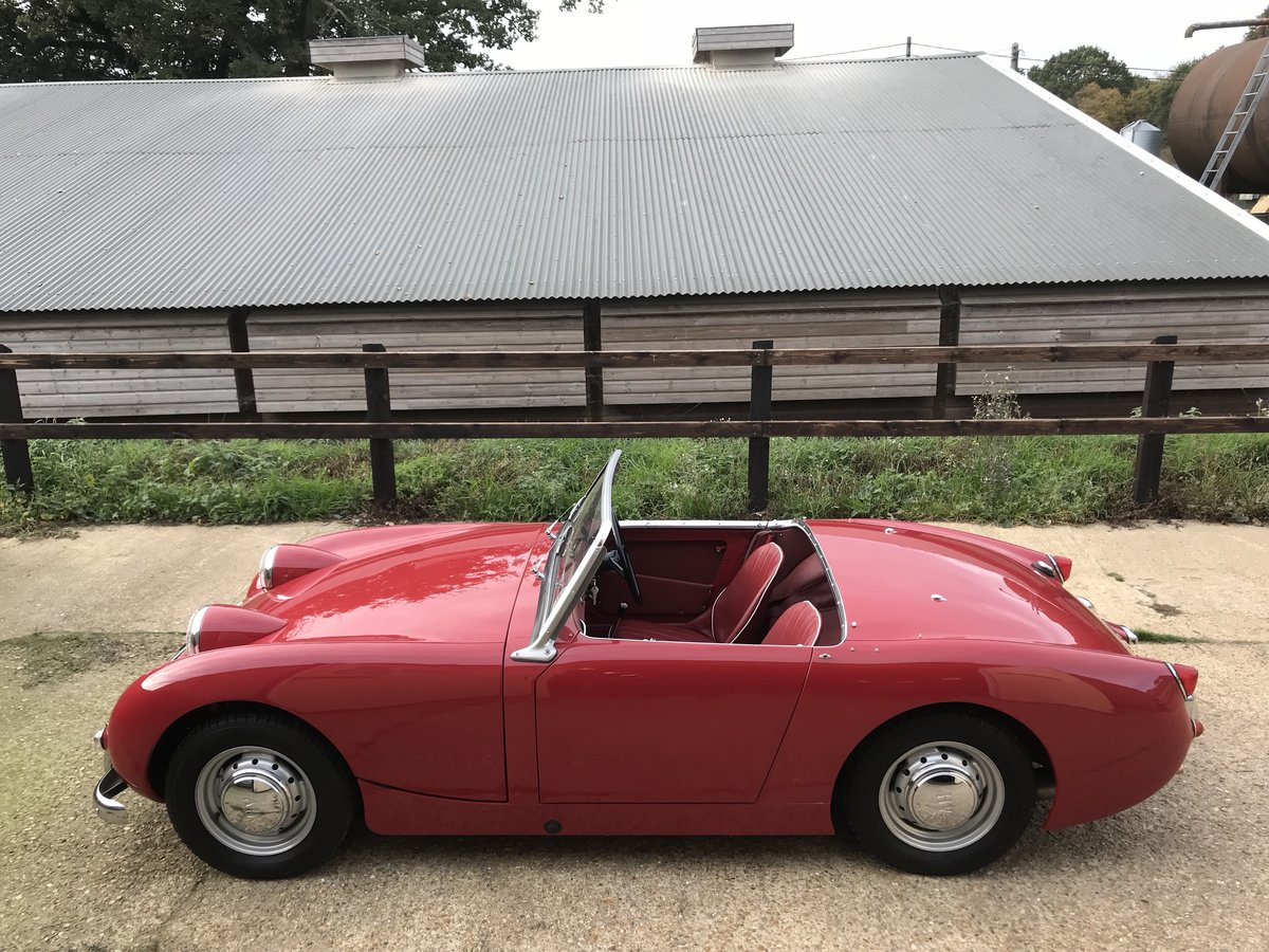 1959 Austin Healey Sprite Mk 1 - Price adjusted SOLD (picture 7 of 10)