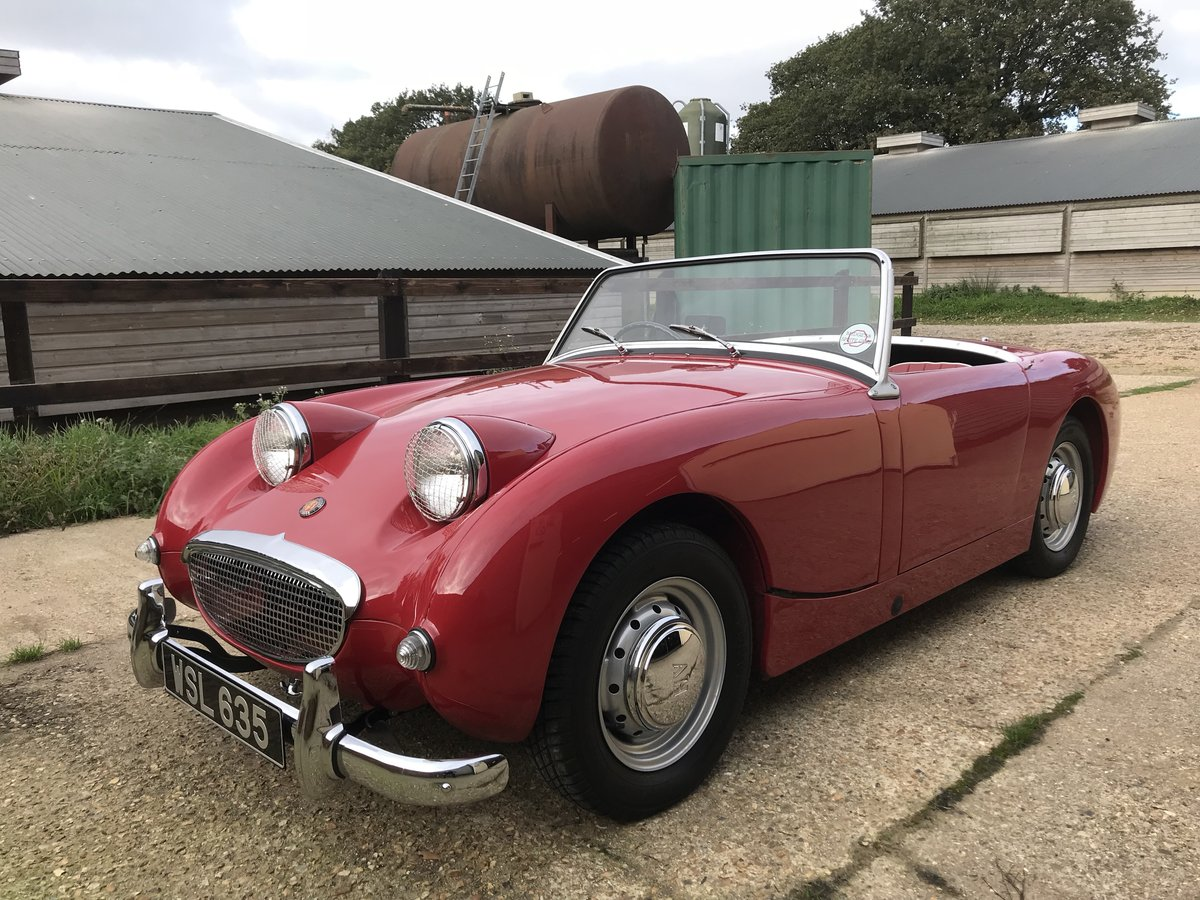 1959 Austin Healey Sprite Mk 1 - Price adjusted SOLD (picture 10 of 10)