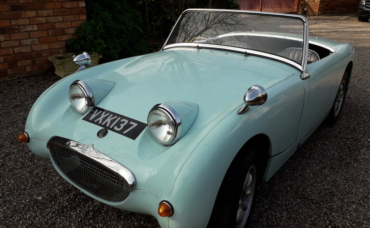 1958 frogeye sprite 2 owners   For Sale (picture 1 of 6)