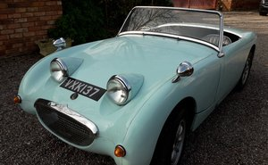 1958 frogeye sprite 2 owners   For Sale