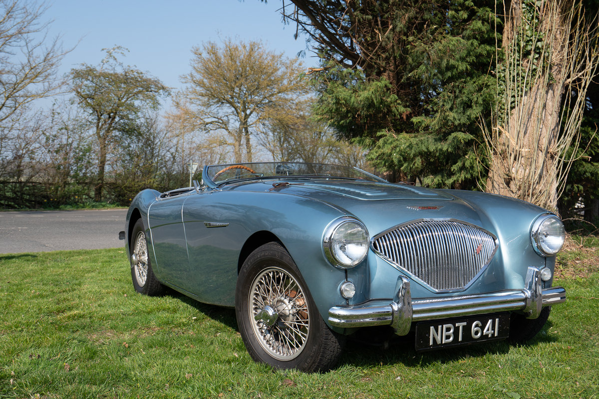 1954 AUSTIN HEALEY 100/4 M-SPEC BN1 SOLD (picture 1 of 6)