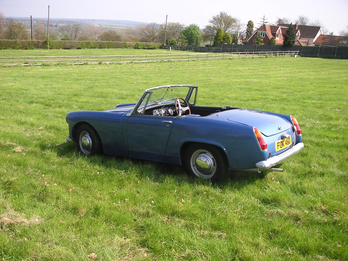 1966 Austin Healey Sprite mk3 SOLD (picture 2 of 5)