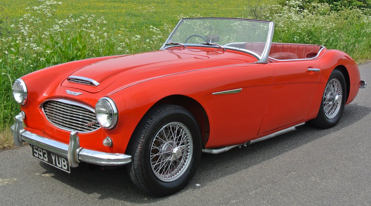 1960 AUSTIN HEALEY 3000 The most origional low mileage example For Sale (picture 1 of 12)