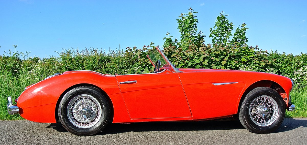 1960 AUSTIN HEALEY 3000 The most origional low mileage example For Sale (picture 3 of 12)