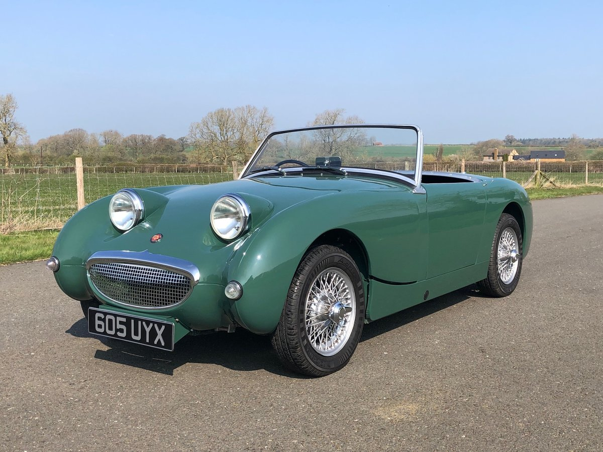 1961 Austin Healey Frogeye Sprite SOLD (picture 1 of 6)