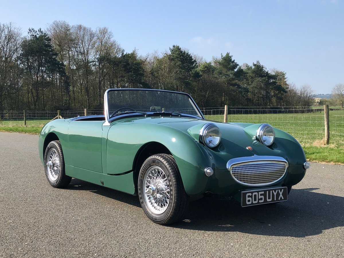 1961 Austin Healey Frogeye Sprite SOLD (picture 3 of 6)