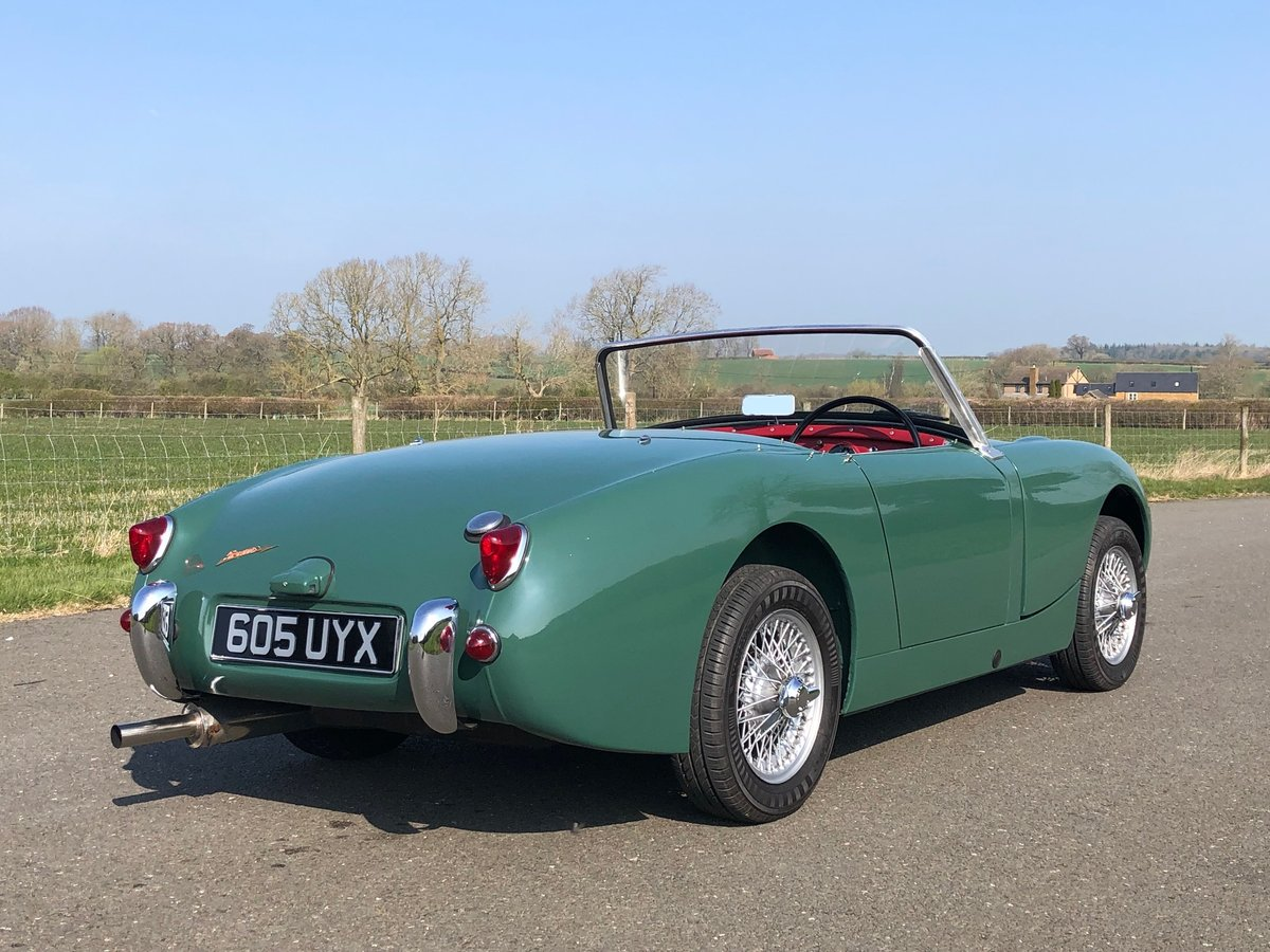 1961 Austin Healey Frogeye Sprite SOLD (picture 4 of 6)