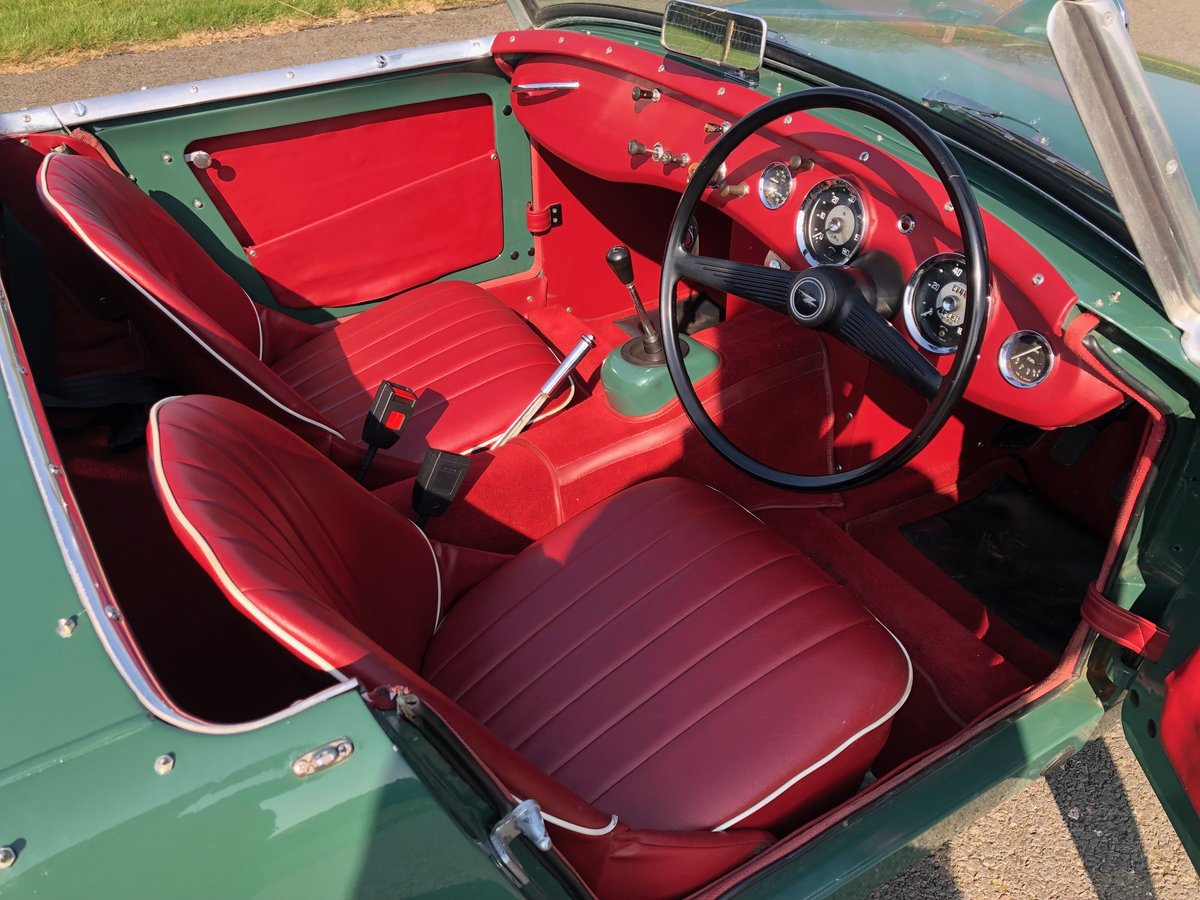 1961 Austin Healey Frogeye Sprite SOLD (picture 5 of 6)