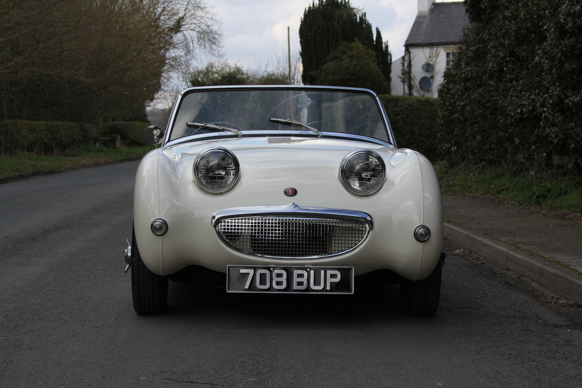 1959 Austin Healey Frogeye Sprite MKI - Excellent re-trim SOLD (picture 2 of 12)