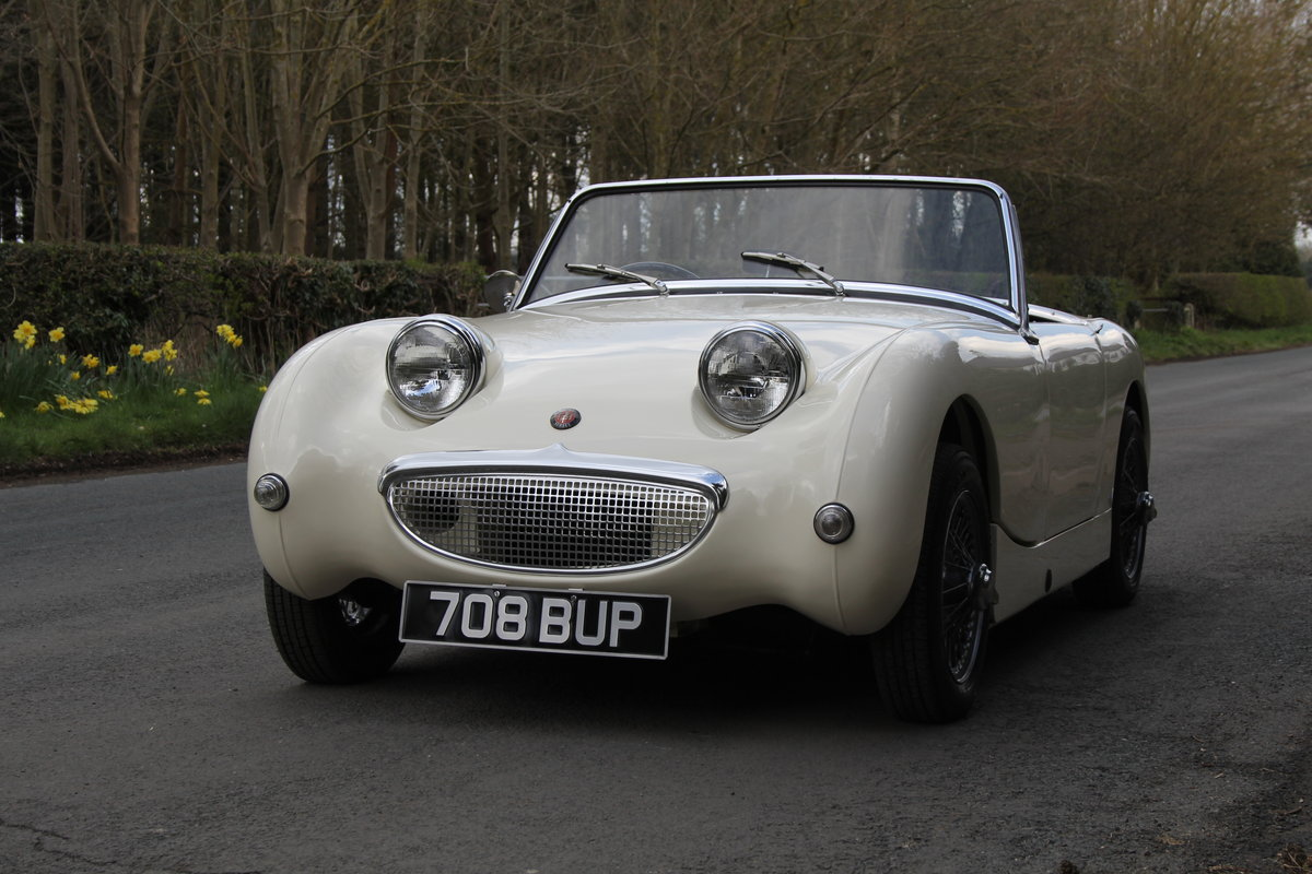 1959 Austin Healey Frogeye Sprite MKI - Excellent re-trim SOLD (picture 3 of 12)