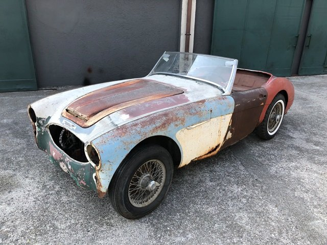 1957 Austin Healey - 100/6 BN4 project car SOLD (picture 1 of 6)